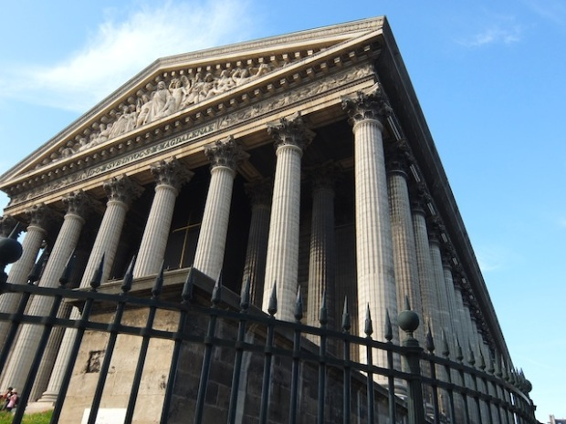 Pillars of La Madeleine Church - Paris