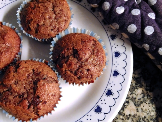 Banana chocolate muffin recipe