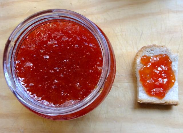 Grapefruit and Banana Jam | Papaya Pieces
