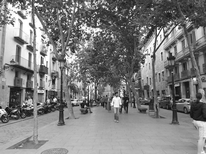 Paseo del Born Barcelona