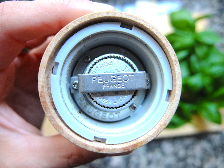 Peugeot grinder for pepper