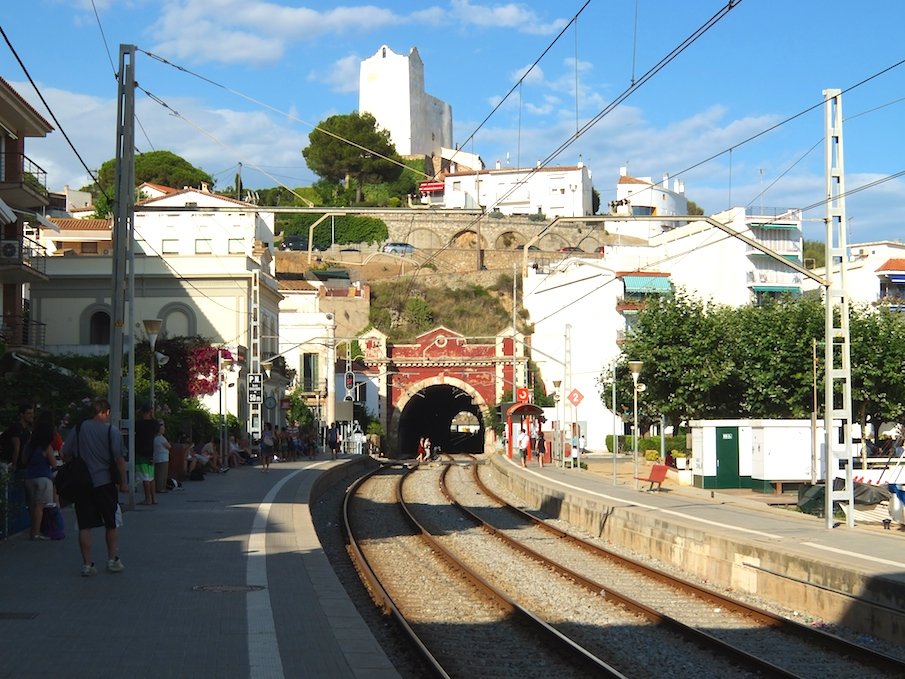 Sant Pol train station