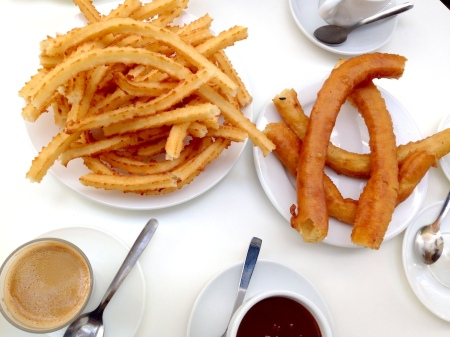 Churros breakfast