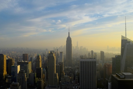 NY from Rockefeller