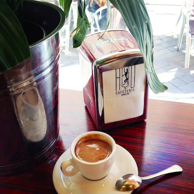 Coffee at Cafeteria HD Madrid